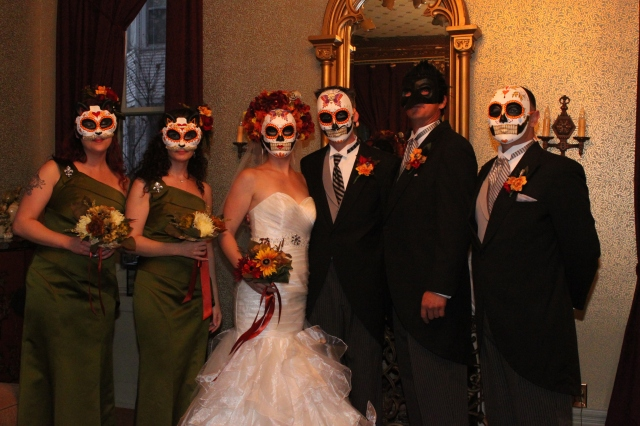 We love Halloween and this year was extra special with a wedding!